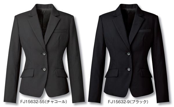 レディス ジャケット ビジネスウェア 事務服ジャケット FJ15632 (5号~19号)フォーク (FOLK) お取寄せ