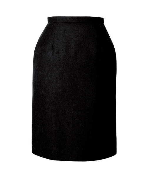 スカート ボトムス ビジネスウェア 事務服セミタイトスカート FS462E (21号・23号)フォーク (FOLK) お取寄せ