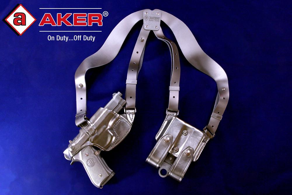 AKER コンフォートフレックス ショルダー・ブラック・右/M92FS用