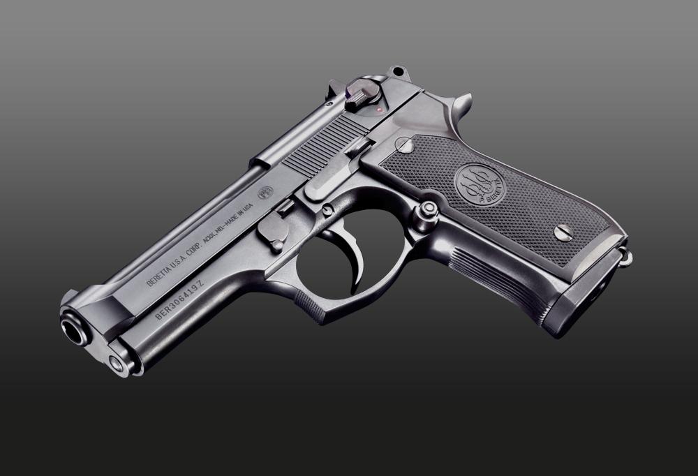 WA ベレッタ M92FS センチュリオン ガンブラックver.