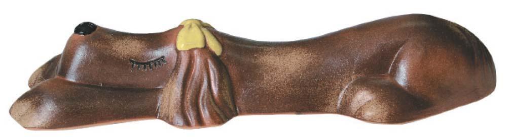 【カーストッパー】アニマルカーストッパー メス(リボン 黄) 色:火色 本体1台のみ車止め ブロック で駐車も安心!可愛らしい カーストッパー をお求めやすい価格で!【送料無料】