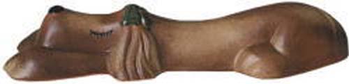 【カーストッパー】アニマルカーストッパー メス(リボン 緑) 色:火色 本体1台のみ車止め ブロック で駐車も安心!可愛らしい カーストッパー をお求めやすい価格で!【送料無料】