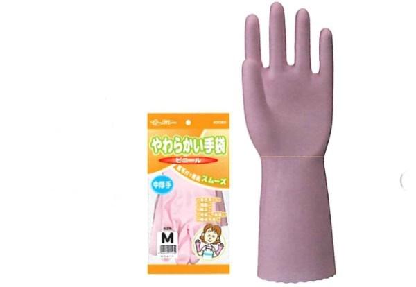 【送料無料】川西工業【KAWANISHI】作業手袋/ゴム手袋 2051 炊事用手袋やわらかい手袋 ビニール中厚手 S・M・Lサイズ(シロ) 20組×12セット