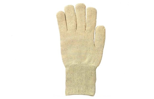 【送料無料】川西工業【KAWANISHI】作業手袋/軍手 2550 ケブラー 内パイル Fサイズ(イエロー) 1組×12セット
