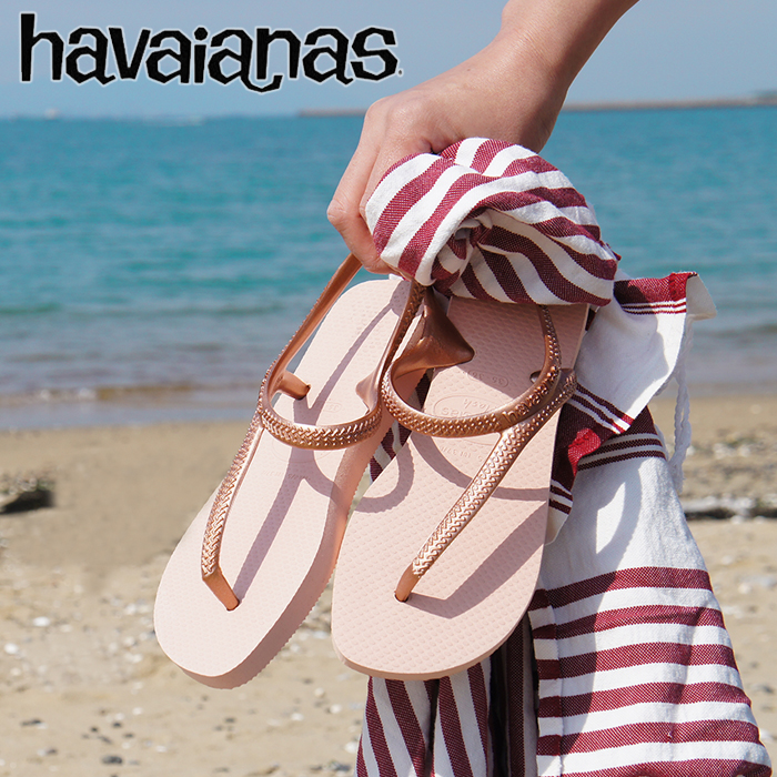 2885bc49a Around the King s Beach sandal Havaianas FLASH URBAN ( フラッシュアーバン ) ladies  ankle strap