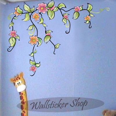 ウォールステッカー お部屋が大変身 魔法のシール マーケット 今では世界中で人気のインテリアアイテムのウォールステッカー インテリアシール 壁シール 北欧 sticker 壁紙シール 水彩の花 wall 卓越