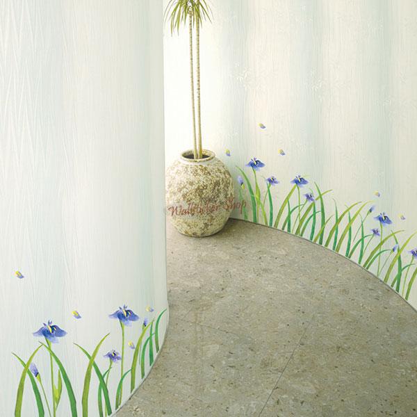 お部屋が大変身 魔法のシール 今では世界中で人気のインテリアアイテムのウォールステッカー ウォールステッカー インテリアシール 壁シール 壁紙シール 02P05Nov16 《週末限定タイムセール》 北欧 wall 評価 sticker 草花