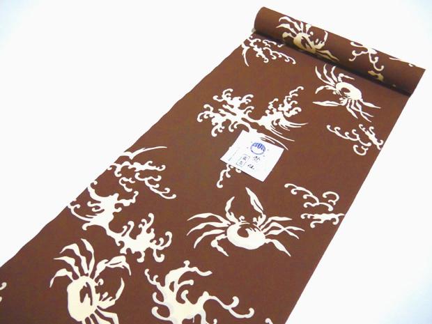 <本格派メンズゆかた>日本橋 竺仙鑑製 コーマ地染江戸好キング 注染 男性用 高級浴衣【お仕立代込み&送料無料】日本製 綿100% ちくせん ※仕立ての段階に入ってからのキャンセル等はお断り致します。※反物での販売も行なっております。