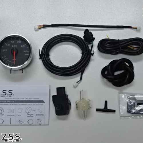 Z.S.S. MC Meter Premium Edition φ60 ブースト計 ターボ 電子式 追加 メーター ZSS