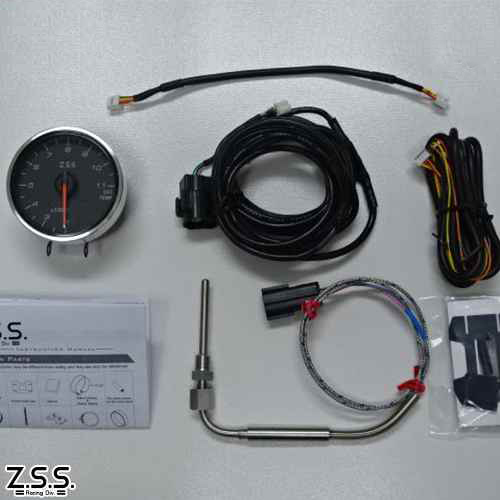 Z.S.S. MC Meter Premium Edition φ60 排気温度計 電子式 追加 メーター ZSS