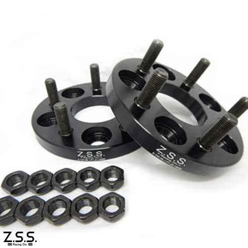 Z.S.S. ワイドスペーサー 15mm 100 5穴 M12×P1.25 スバル PCD100-5H ワイドトレッドスペーサー ワイトレ ZSS