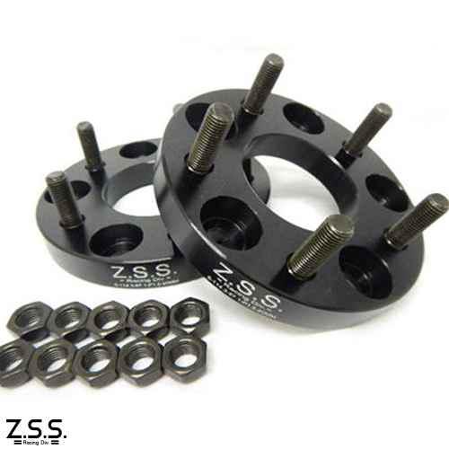Z.S.S. ワイドスペーサー 20mm 114.3 5穴 M12×P1.5 マツダ PCD114.3-5H ワイドトレッドスペーサー ワイトレ ZSS