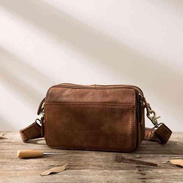 ショルダーバッグ 斜めがけバッグ メンズ レザー 本革 メッセンジャーバッグ カジュアル 通学 通勤 軽量 旅行 斜め掛け 黒 バック カバン 鞄 bag-1144