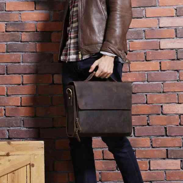 ビジネスバッグ 斜めがけ A4 ショルダー メンズ 本革 ブリーフケース レザー 軽量 通勤 斜め掛け 黒 バック カバン 鞄 かばん bag bag-1150 【予約商品】