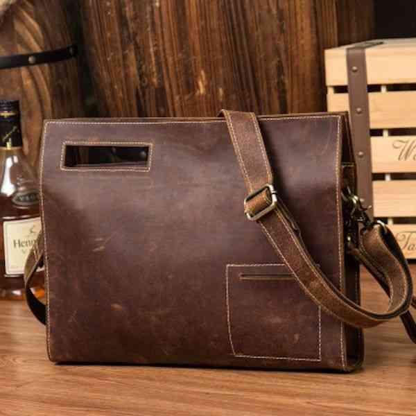 ショルダーバッグ メンズ レザー 本革 カジュアル メッセンジャーバッグ 斜めがけバッグ 通学 通勤 軽量 旅行 斜め掛け 黒 バック カバン 鞄 bag-1202