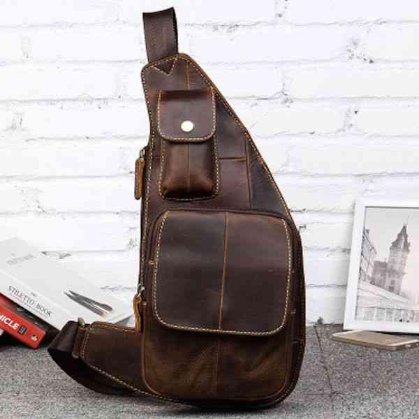 ボディバッグ メンズ レザー 本革 斜めがけバッグ ワンショルダーバッグ 軽量 小物 通学 軽量 旅行 斜め掛け 黒 バック カバン 鞄 小さめ bag-1227
