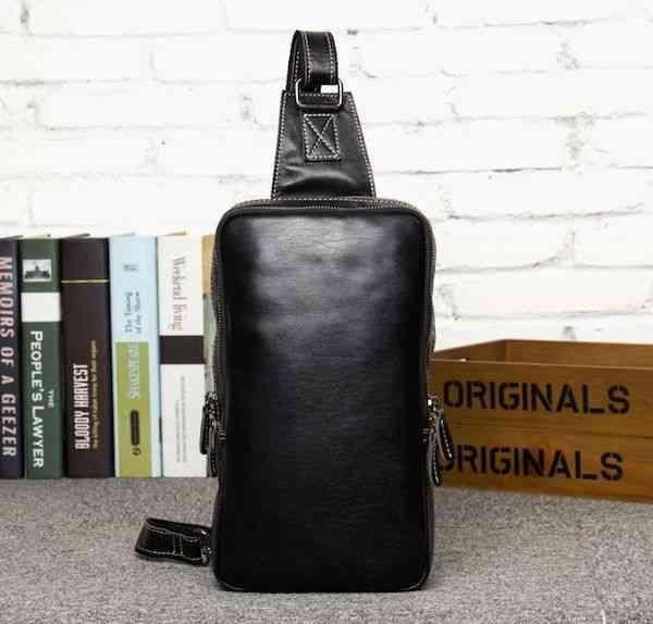 ボディバッグ メンズ レザー 本革 斜めがけバッグ 軽量 ワンショルダーバッグ 小物 通学 軽量 旅行 斜め掛け 黒 バック カバン 鞄 小さめ bag-1229