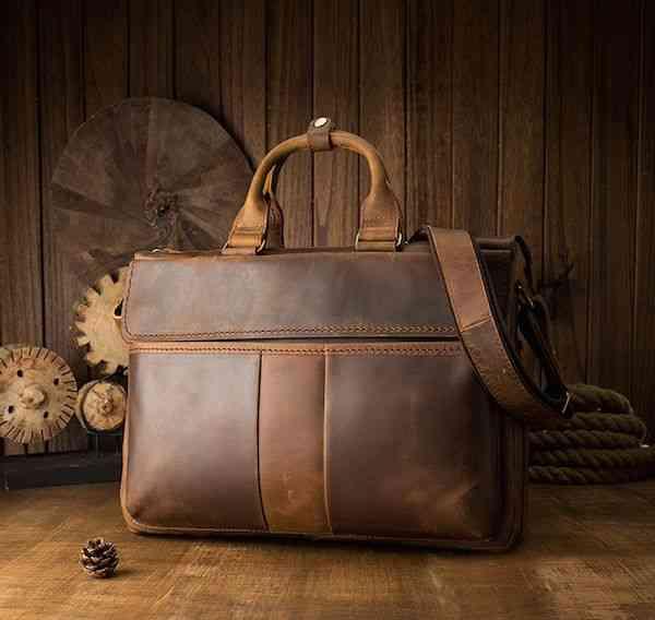 ビジネスバッグ 本革 ブリーフケース レザー メンズ 斜めがけ A4 ショルダー 軽量 通勤 斜め掛け 黒 バック カバン 鞄 かばん bag bag-1238 【予約商品】