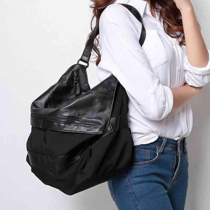 ショルダーバッグ ハンドバッグ レザー 本革 レディース 斜めがけバッグ 大容量 軽量 通学 通勤 軽量 旅行 斜め掛け 黒 バック カバン 鞄