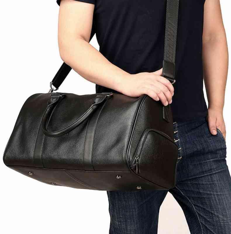 ショルダーバッグ 斜めがけバッグ メンズ レザー 本革 メッセンジャーバッグ カジュアル 通学 通勤 軽量 旅行 斜め掛け 黒 バック カバン 鞄 bag-1344