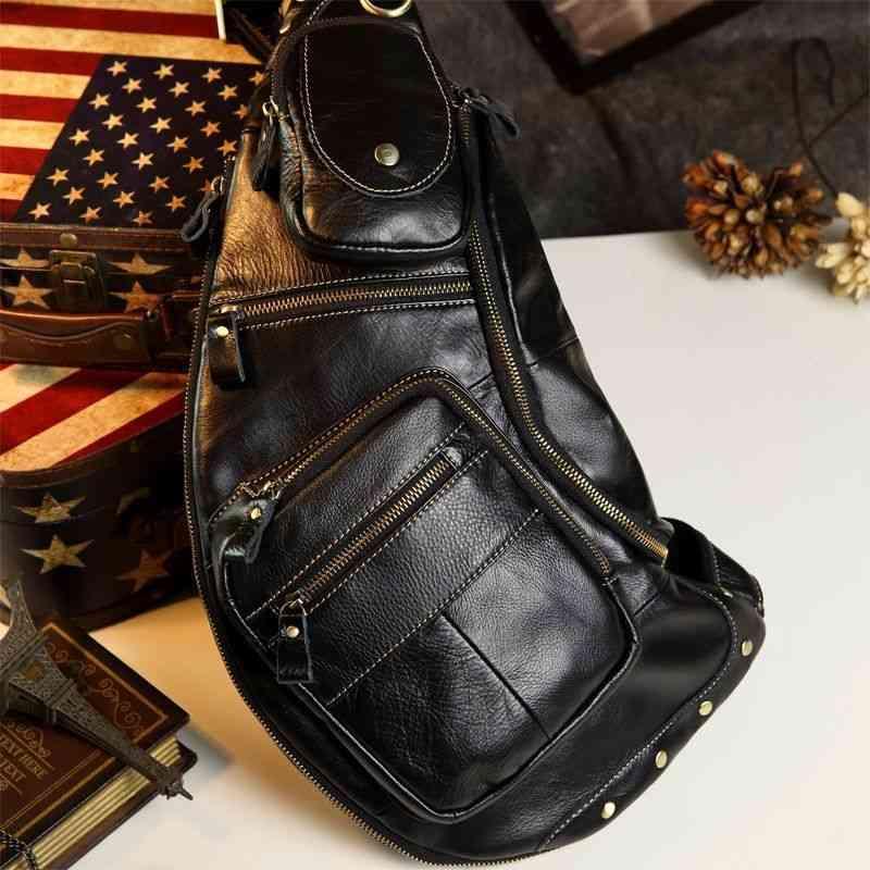 ボディバッグ メンズ レザー 本革 斜めがけバッグ 軽量 ワンショルダーバッグ 小物 通学 軽量 旅行 斜め掛け 黒 バック カバン 鞄 小さめ bag-251