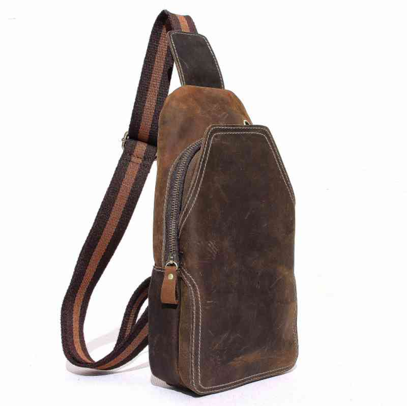ボディバッグ メンズ レザー 本革 斜めがけバッグ 軽量 ワンショルダーバッグ 小物 通学 軽量 旅行 斜め掛け 黒 バック カバン 鞄 小さめ bag-882 【予約商品】