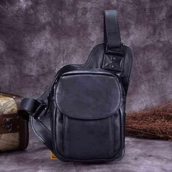 ボディバッグ メンズ レザー 本革 斜めがけバッグ ワンショルダーバッグ 軽量 小物 通学 軽量 旅行 斜め掛け 黒 バック カバン 鞄 小さめ bag-989