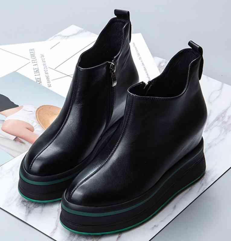 ウォーキングシューズ 本革靴 軽量 レザー スニーカー レディース 歩きやすい ブーツ e 秋 春 黒 軽い 夏 冬 cm カジュアル 予約商品