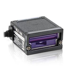 定置式バーコードリーダー レーザスキャナ NLB-1000-RS232C-I, シングルビーム, RS232C接続, 超小型・軽量 ウェルコムデザイン