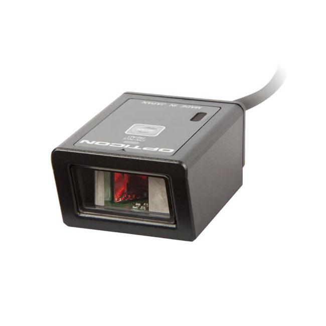 定置式バーコードリーダー レーザスキャナ NLV-1001-USB, USB接続, 超小型・軽量 ウェルコムデザイン