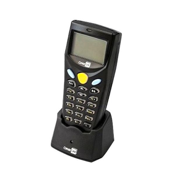 バーコードハンディターミナル MODEL 8000シリーズ 乾電池式レーザ本体 【ソフト付】+RS232C接続通信クレードル ウェルコムデザイン