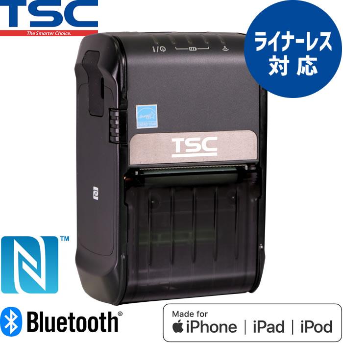 サーマルモバイルラベルプリンター Alpha-2R NFC対応 ライナーレス対応 Bluetooth USB接続 MFi認証モデル TSC ウェルコムデザイン