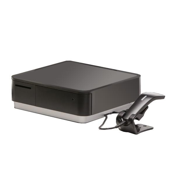 スター精密 POP10 サーマルプリンター(キャッシュドロア内蔵) バーコードリーダー付 1年保証 POP10-B1-BLK-JP MFi取得