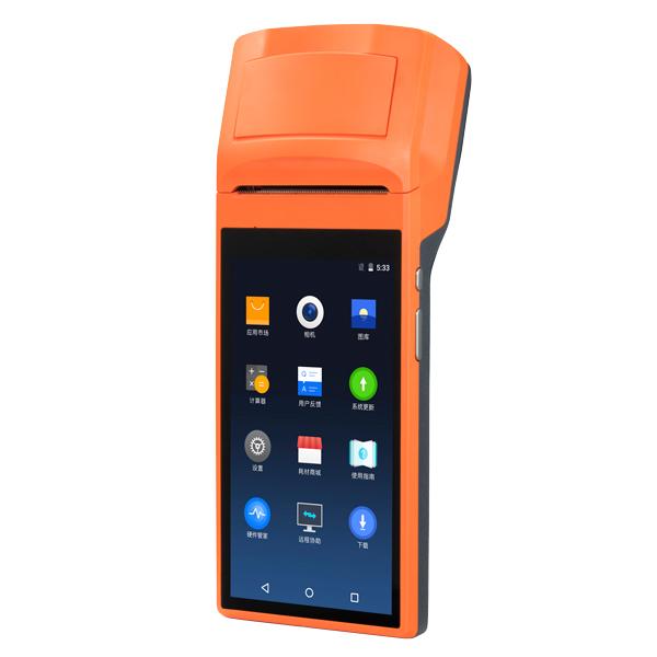 SUNMI プリンター搭載Androidハンディターミナル SUNMI-V1s 【1年保証】 58mm幅 5.5インチ HDディスプレイ Bluetooth接続