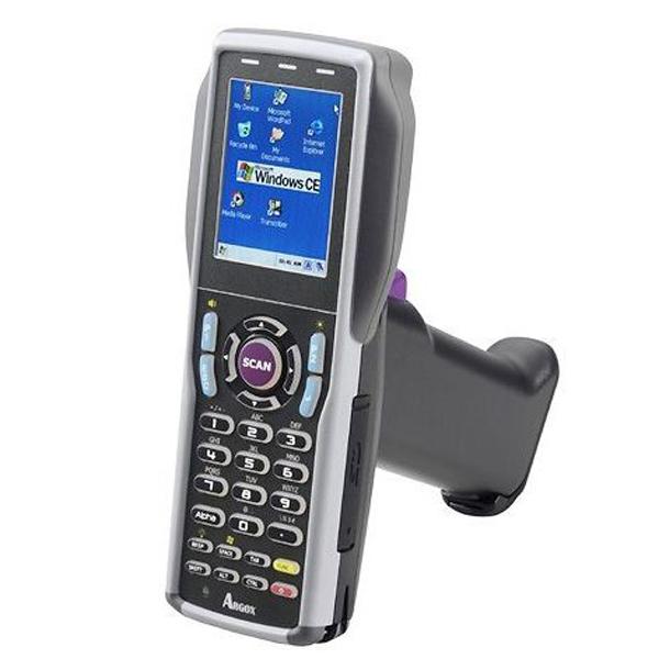 【特価 訳あり】CE5.0搭載ハンディターミナル ガングリップ 【業務アプリ付】 カラー液晶 Bluetooth 大容量充電池パック ACアダプタ付 PT-60B-G