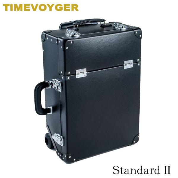 安達紙器工業 タイムボイジャー トロリーバッグ TV04-BK スタンダードII ブラック