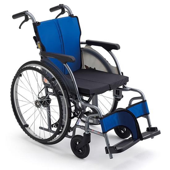 MIKI ミキ 自走用車椅子 CRTシリーズ CRT-1-CZ  超軽量 コンパクト モジュール