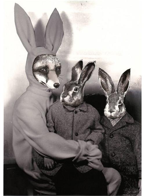 ジムボバート Jimbobart A4 アートプリント Rabbit Costume 250枚限定 直筆サイン入り 絵画 インテリア おしゃれ 北欧 プレゼント ギフト 新生活 新居 引越し祝い 新築 子供