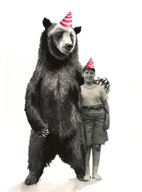 ジムボバート Jimbobart A4 アートプリント Bear and Cousin ベア アンド カズン 250枚限定 直筆サイン入り 絵画 インテリア おしゃれ 北欧 プレゼント ギフト 新生活 新居 引越し祝い 新築 子供