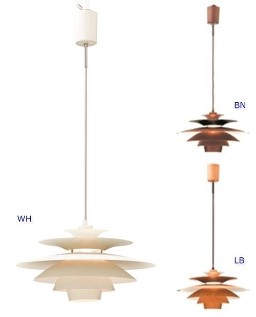 ペンダント照明 ノルデン(電球形蛍光灯付きタイプ)[WH|BN|LB]LT-8823 Norden LED・蛍光灯・白熱球対応 【インターフォルムINTERFORM】