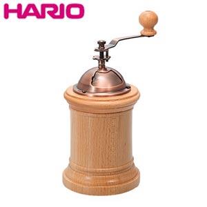 人気海外一番 セラミック製の臼を使用した手挽きコーヒーミル キッチン雑貨 コーヒー 引き立て ミル 木製 コーヒーミル コラム ハリオ CM-502C HARIO 爆安プライス 手動