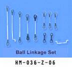 ラジコンヘリコプター消耗部品 6ch#36(HM-036-Z-06)Linkage Set