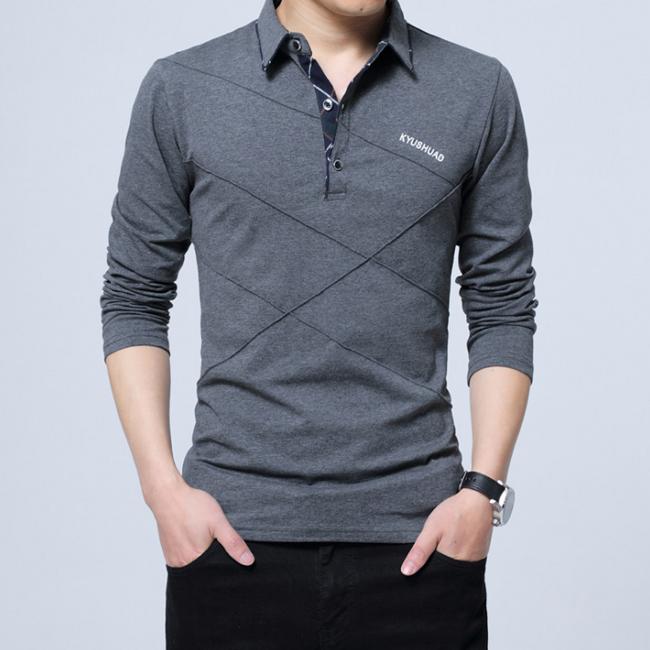 POLOシャツ メンズ ビジネス ポロシャツ 長袖 ゴルフシャツ 販売 内祝い Tシャツ トップス 部屋着 カジュアル スポーツ