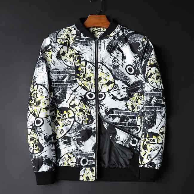 ジャケット メンズ ブルゾン スタジャン 柄ジャケット 無料サンプルOK 花柄 スプリングジャケット おしゃれ キャンペーンもお見逃しなく 総柄
