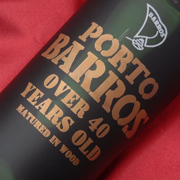 バロース オールドトウニーポート 40年 750ml ポート ワイン ポルトガル トゥニー 赤 ミディアムボディ(中重口) BARROS OLD TAWNY 40YEARS