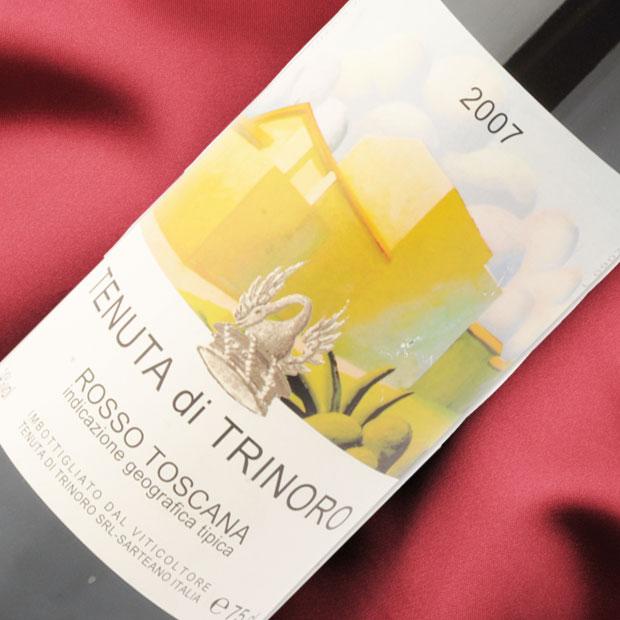 テヌータ ディ トリノーロ 07 [2007] イタリア トスカーナ州全域 赤 フルボディタイプ(重口) TENUTA DI TRINORO ヴィンテージ ワイン