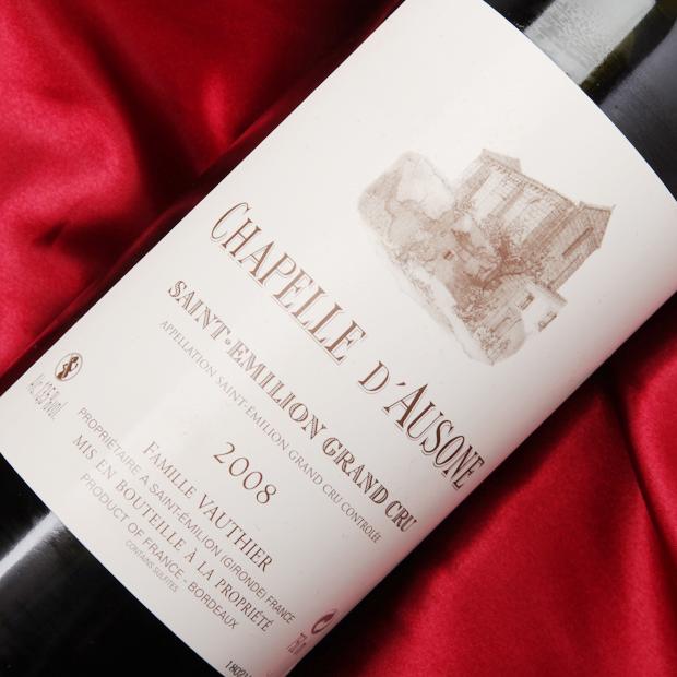 シャペル ドーゾンヌ [2008] 750ml セカンドワイン フランス サンテミリオン 赤フルボディタイプ(重口)