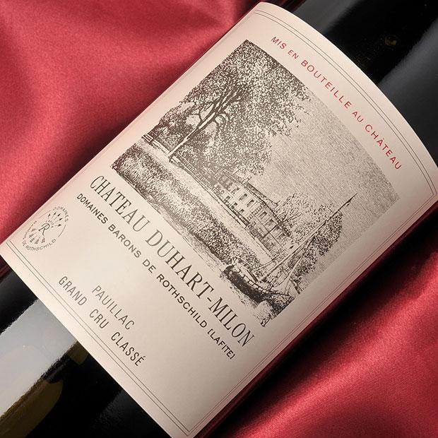 ボルドー グランヴァン[シャトー デュアール ミロン 2010 750ml]chateau DUHART MILON メドック第4級 フランス ポイヤック 赤フルボディタイプ(重口)
