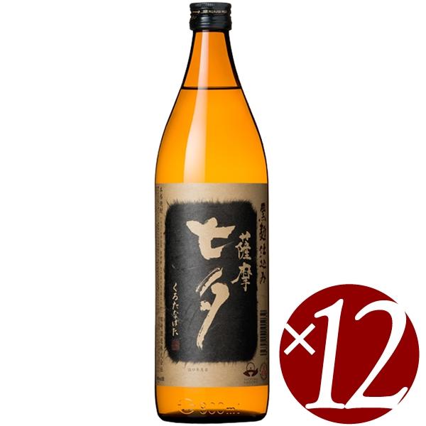 【ポイント2倍(11日2時まで)】黒七夕 25度/田崎酒造 900ml×12本 (芋焼酎)