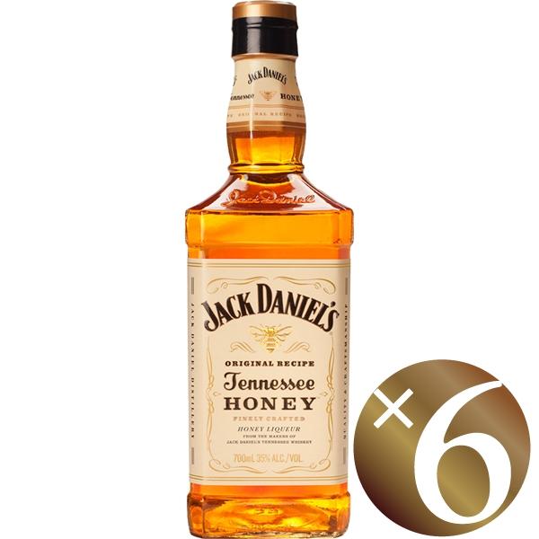 ジャック ダニエル テネシーハニー 700ml×6本 (リキュール(フレーバードウイスキー))